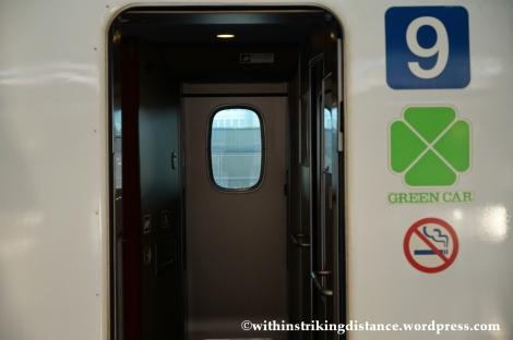 03Feb14 Kodama N700 Shinkansen Green Car 002