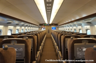 03Feb14 Kodama N700 Shinkansen Green Car 003