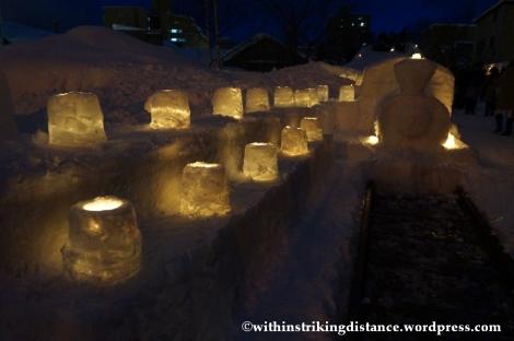 07Feb14 Otaru Snow Light Path 002