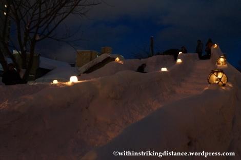 07Feb14 Otaru Snow Light Path 003