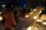 07Feb14 Otaru Snow Light Path 008