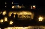 07Feb14 Otaru Snow Light Path 011