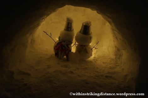07Feb14 Otaru Snow Light Path 013