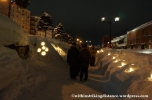 07Feb14 Otaru Snow Light Path 029