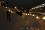 07Feb14 Otaru Snow Light Path 031