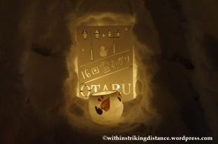 07Feb14 Otaru Snow Light Path 033