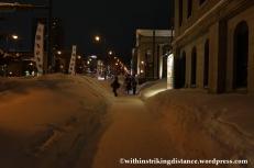 07Feb14 Otaru Snow Light Path 036