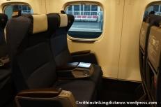 12Feb14 N700 Series Shinkansen Green Car 004