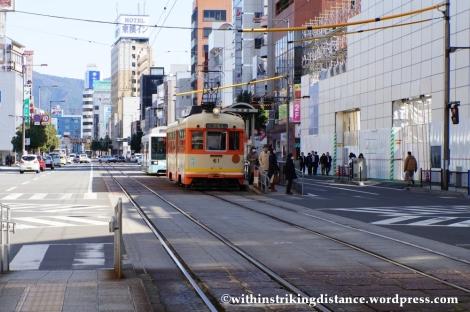 12Feb14 Iyotetsu Tram Okaido Matsuyama Ehime Shikoku Japan 001