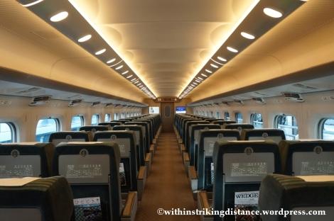 13Feb14 700 Series Shinkansen Green Car Japan 001