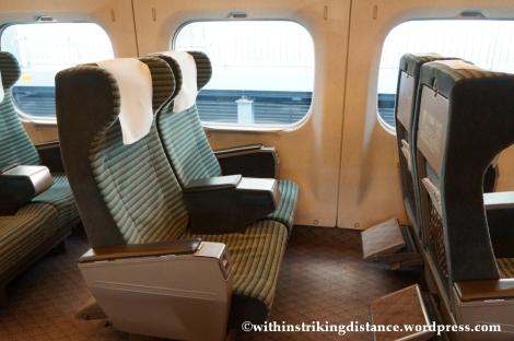 13Feb14 700 Series Shinkansen Green Car Japan 002