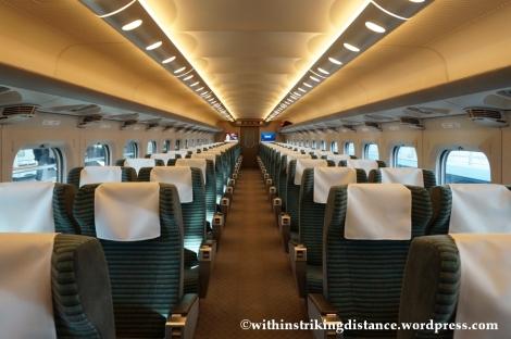 13Feb14 700 Series Shinkansen Green Car Japan 004