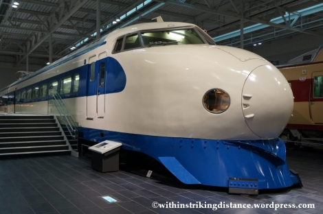 14Feb14 0 Series Shinkansen Class 21 Train SCMaglev and Railway Park Nagoya Japan 014