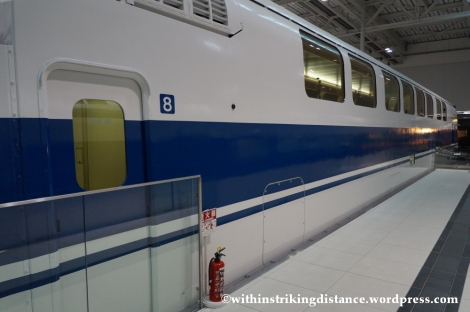 14Feb14 100 Series Shinkansen Class 168 Train SCMaglev and Railway Park Nagoya Japan 023