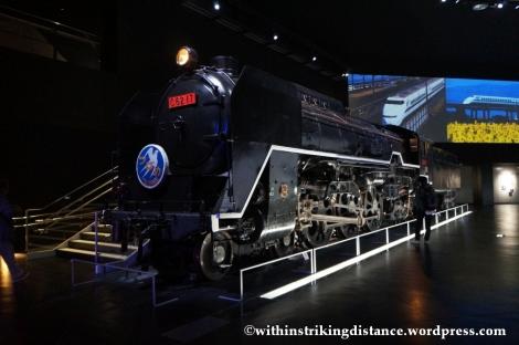 14Feb14 Class C62 Steam Locomotive Train SCMaglev and Railway Park Nagoya Japan 001