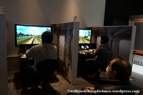 14Feb14 Conventional Train Simulator SCMaglev and Railway Park Nagoya Japan 010