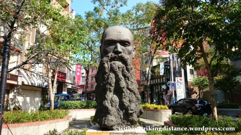 06Nov14 George Leslie Mackay Statue Tamsui Danshui Taipei Taiwan 007