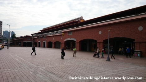 06Nov14 Tamsui Metro Station Danshui Taipei Taiwan 001
