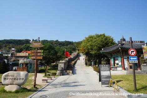 14Oct13 Paldalsan Wall Hwaseong Fortress Suwon South Korea 001