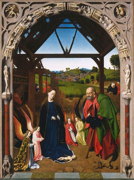 Nativity Petrus Christus