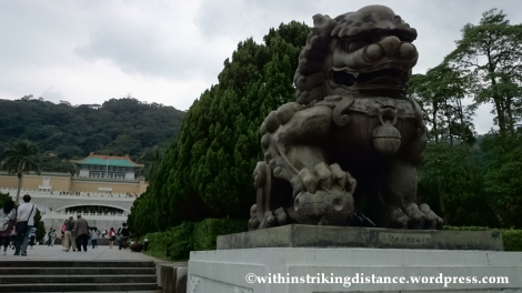 07Nov14 National Palace Museum Bronze Guardian Lion Taipei Taiwan 008