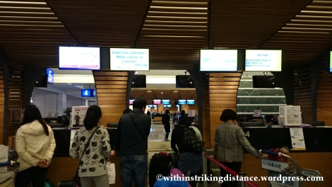 07Nov14 006 Taoyuan International Airport Terminal 1 Check-in Counters Taipei Taiwan