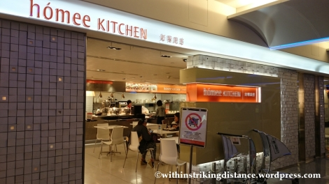 07Nov14 011 Homee Kitchen Taoyuan International Airport Terminal 1 Taipei Taiwan