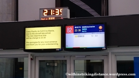 07Nov14 017 Taoyuan International Airport Terminal 1 Taipei Taiwan