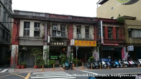 07Nov14 024 Old Brick Buildings Changsha Street Taipei Taiwan