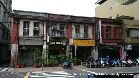 07Nov14 024 Old Brick Buildings Changsha Street Taipei Taiwan