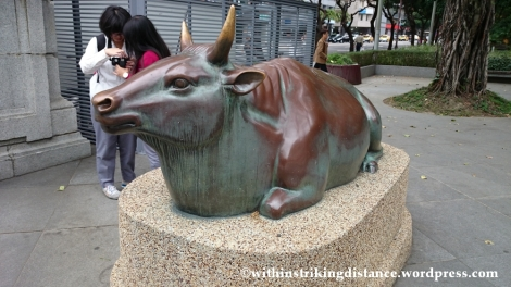 07Nov14 044 Taiwan Grand Shrine Copper Bull National Taiwan Museum Taipei Taiwan