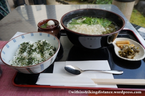 20Nov14 007 Matcha Haikara Soba Nakamura Tokichi Honten Uji Kyoto Kansai Japan