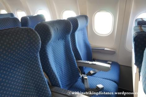 10Dec14 005 A320-200 Seats Economy Class Air Asia Zest Z2 884 Manila Seoul Incheon