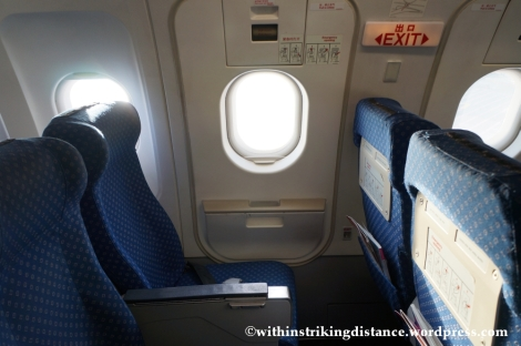 10Dec14 007 A320-200 Seats Exit Row Economy Class Air Asia Zest Z2 884 Manila Seoul Incheon