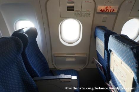 10Dec14 007 A320-200 Seats Exit Row Economy Class Air Asia Zest Z2 884 Manila Seoul Incheon