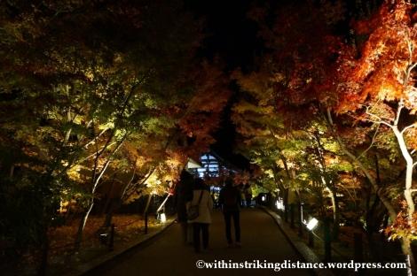 20Nov14 019 Autumn Leaves Eikando Zenrinji Kyoto Kansai Japan