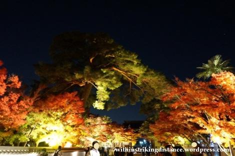 20Nov14 021 Autumn Leaves Eikando Zenrinji Kyoto Kansai Japan