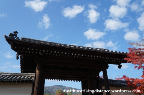 22Nov14 001 Autumn Tenryu-ji Arashiyama Kyoto Kansai Japan
