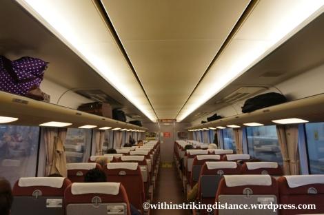 22Nov14 002 681 series train JR West Thunderbird limited express