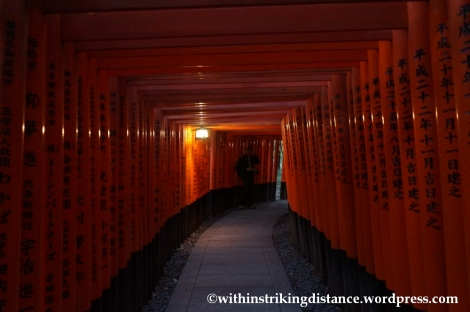 22Nov14 003 Fushimi Inari Taisha Torii Kyoto Kansai Japan