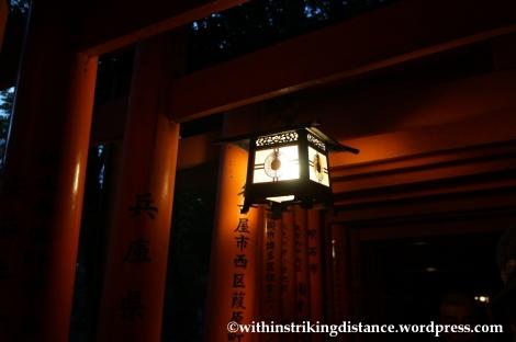 22Nov14 004 Fushimi Inari Taisha Torii Kyoto Kansai Japan