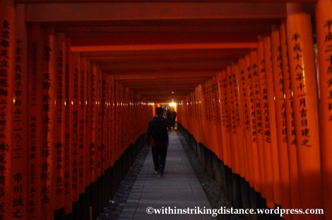 22Nov14 005 Fushimi Inari Taisha Torii Kyoto Kansai Japan