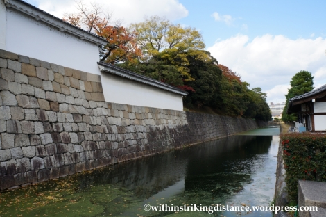23Nov14 001 Outer Moat Nijo Castle Kyoto Kansai Japan