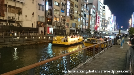 23Nov14 003 Cruise Boat Dotombori Osaka Kansai Japan