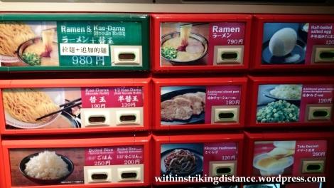 23Nov14 007 Ichiran Ramen Dotombori Osaka Kansai Japan