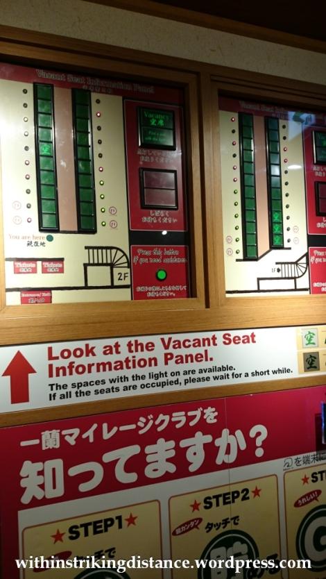 23Nov14 009 Ichiran Ramen Dotombori Osaka Kansai Japan