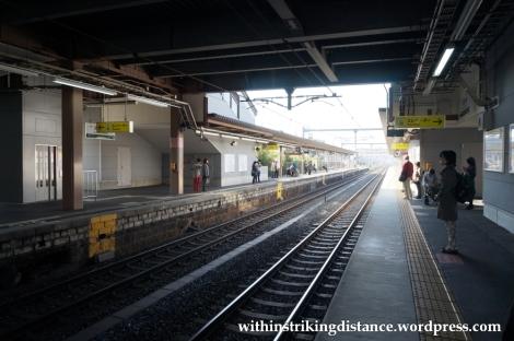 24Nov14 021 JR Horyuji Station Ikaruga Nara Kansai Japan