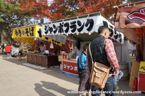24Nov14 007 Food Stalls Nara Japan