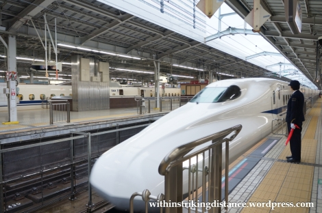 25Nov14 002 N700 Series Shinkansen Train Shin-Osaka Station Osaka Japan