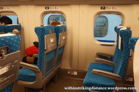 25Nov14 003 N700 Series Shinkansen Train Ordinary Car Japan